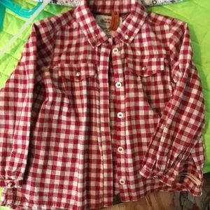 Mayoral Jeans - girl's button down. EUC 2T